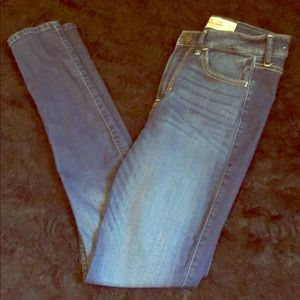 Dark blue Hollister super skinny high rise jeans 3
